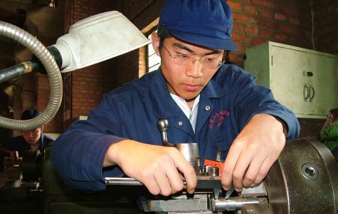 省级重点专业--机械装配与维修